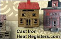cast iron heat registers